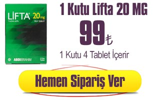 lifta 20 mg 4 tablet