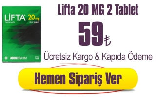 Lifta 20 mg 2 tablet 59 TL